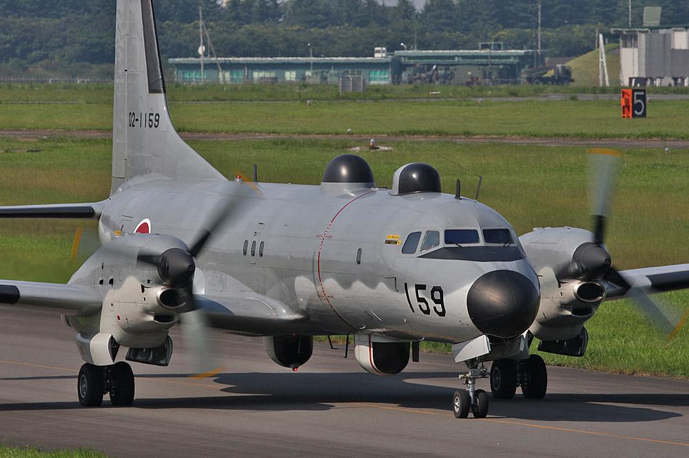 YS-11EB : 【中国軍機異常接近】YS11電子測定機,OP3C画像データ収集 ...
